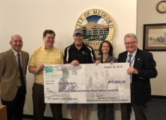 Foundation presents city with $17,093 Scholarship Check
