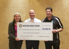 Medford Rogue Rotary Club Raises Over $32K for Olsrud Playground Project