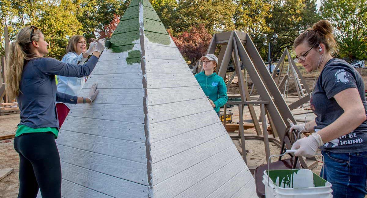 Bear Creek Park Playground Construction