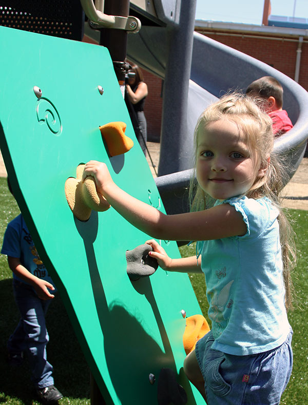 Playground at Santo Community Center