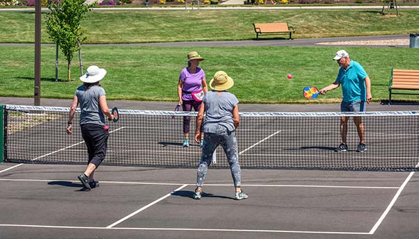 Village Center Park Tennis Courts