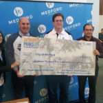 2021 Play Everyday Scholarship Fund Check Presented to City of Medford